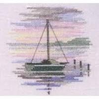 Minuets Sailing Boat Cross Stitch Kit