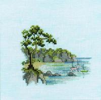Minuets Headland Cross Stitch Kit