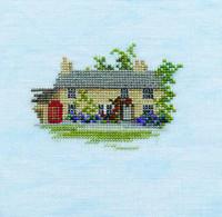 Minuets Rose Cottage Cross Stitch Kit