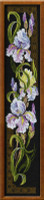 Irises Cross Stitch Kit By Riolis