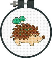 Hedgehog Cross Stitch Kit By Dimensions
