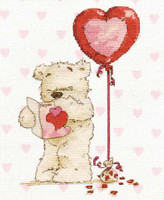 With Lickle Love Cross Stitch Kit