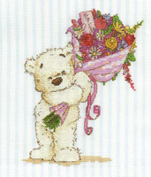 With A Lickle Affection Cross Stitch Kit