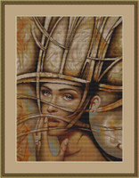 Abstract 1 Cross Stitch Kit By Luca S