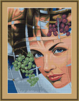 Abstract 2 Cross Stitch Kit By Luca S