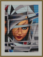 Abstract 8 Cross Stitch Kit By Luca S