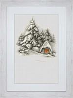 Winter Landscape Cross Stitch Kit By Luca-S