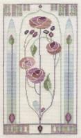 Mackintosh - Oriental Rose Cross Stitch Kit