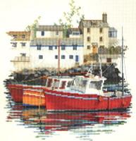 Fishing Village Cross Stitch Kit
