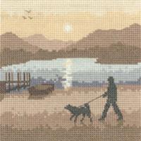 Sunset Stroll Cross Stitch Kit