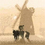 Windmill Cross Stitch Kit