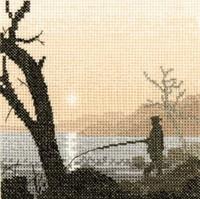 Gone Fishing Cross Stitch Kit