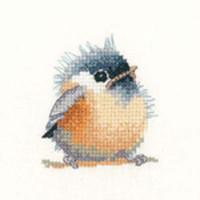 Chickadee Cros Sstitch Kit For Beginners