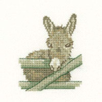 Donkey Cross Stitch Kit For Beginners