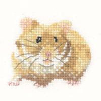Hamster Cross Stitch Kit For Beginners
