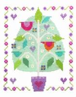Tree Of Love Cross Stitch Kit