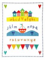 By The Sea Sampler Cross Stitch Kit