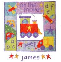 On The Move Cross Stitch Kit