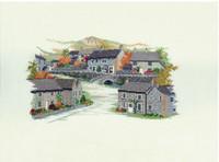 Derbyshire Village Cross Stitch Kit