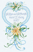 Cherished Wedding Cross Stitch Kit By Janlynn