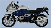 Bmw R1100St 2006 Motorcycle Cross Stitch Chart