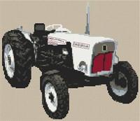 David Brown Tractor Cross Stitch Chart