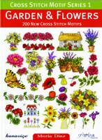 Garden And Flowers Cross Stitch Motif Book