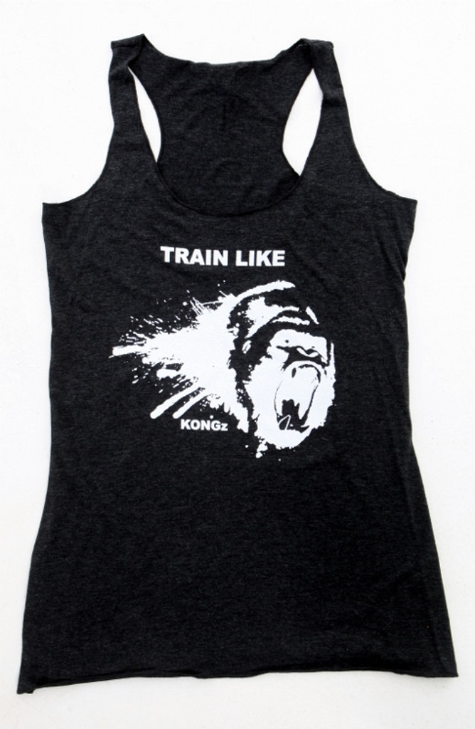 Darkfin KONGZ workout and crossfit ladies tank top