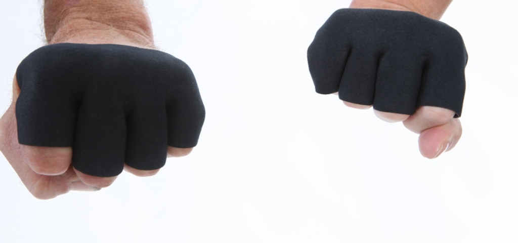 Darkfin KONGZ workout and crossfit gloves close up