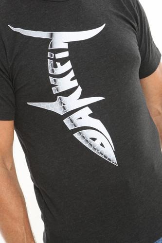 Darkfin webbed power gloves logo t-shirt