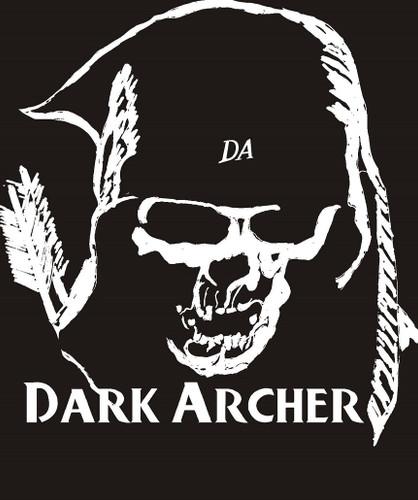 Dark Archer tactical archery logo decal