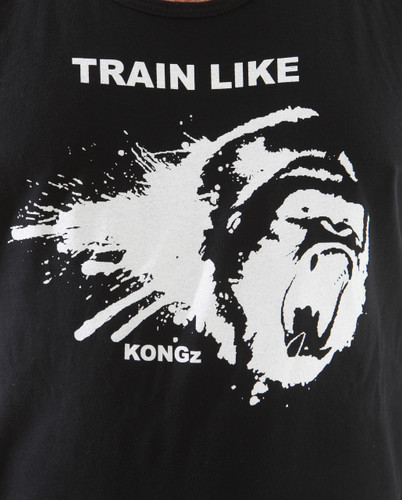 Train like a beast with our KONGZ workout tank for men and women
