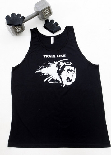 Darkfin KONGZ workout and crossfit mens tank top combo