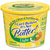 I Cant Believe Its Not Butter Light -15 oz