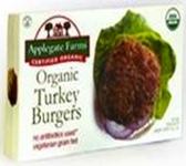 Applegate Organics - Organic Turkey Burgers -12oz