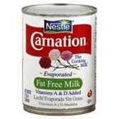 Carnation Evaporated Milk Fat Free -12 oz