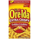Ore Ida Extra Crispy Golden Crinkles -26 oz