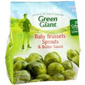 Green Giant Baby Brussels Sprouts & Butter Sauce-10 oz