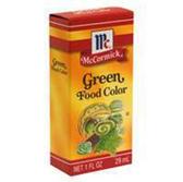 Mccormick Green Food Coloring-1 Fl. Oz