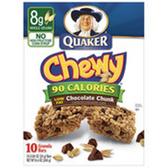 Quaker Chewy Chocolate Chip Granola Bar -10 pk