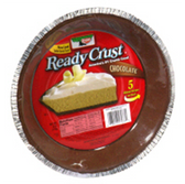 Keebler Ready Gram Cracker Pie Crust Chocolate -6 oz