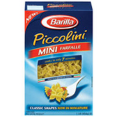 Barilla Piccolini Mini Farfelle Pasta - 16 oz