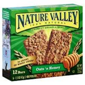 Nature Valley Snack Bar Oats N Honey Granola-24ct