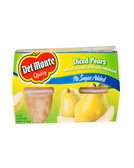 Del Monte - Diced Pears -4ct