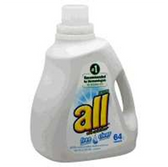 All Free Clear 2x Ultra Laundry Detergent 96 Loads