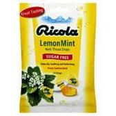 Ricola Sugar Free Lemon Mint Lozenges - 19 Count