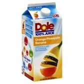 Dole Orange Pineapple Banana Juice -64 oz