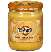 Tostitos Smooth Cheesy Dip -15 oz