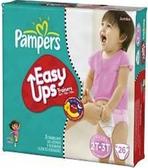 Pamper's Girls Easy Ups 2T - 3T -26ct