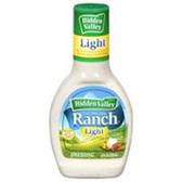 Hidden Valley Ranch Light  Salad Dressing -16 oz